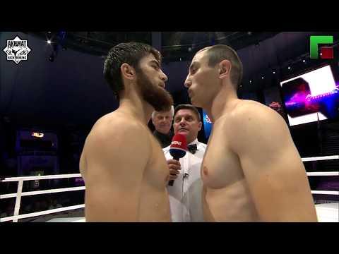 75 kg.  Abdul-Aziz Yusupov (Russia) vs Iago Gedenidze (Georgia)