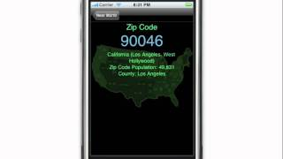 Gambar cover Zip Codes iPhone app