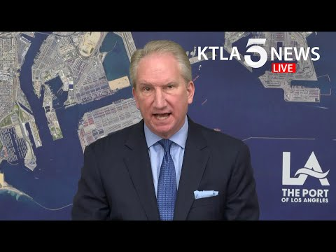 Coronavirus: Port Of L.A. Officials Discuss Operations During COVID-19 Pandemic
