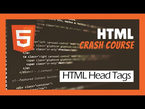 HTML Head Tags | HTML Crash Course For Beginners