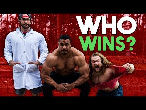 Juji Challenged Larry Wheels and Cailer Woolam to GLADIATORS