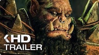 Warcraft Movie ALL Trailer & Clips (2016)