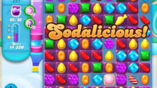 Candy Crush Soda Saga Level 297 (nerfed, 3 Stars)