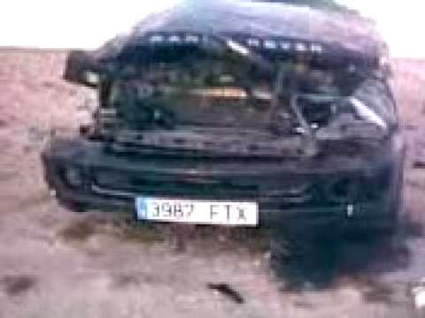 accident range  au sahara marocain (ma range tte bouzillé)
