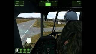 ARMA2 обучение  основам пилотажа вертолетов
