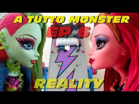 Monster High Reality Show Ep # 6 - Truth or Dare (Eng Sub)