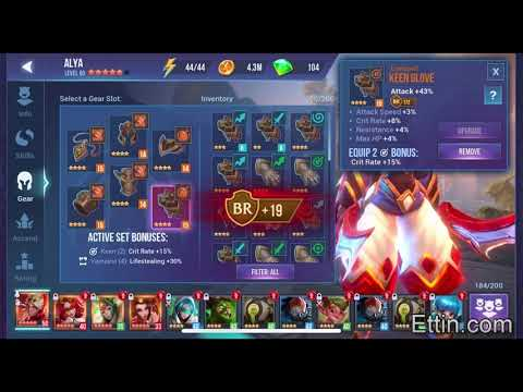 Dungeon Hunter Champions, Plus +15 Vampiric Gear Set? How Hard Is It? 5/23/2018 By Ettin Deads. DHC