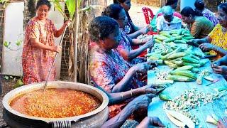 45 KG പോട്ടി കറിയും തനി നാടൻ കല്യാണ വീട്ടിലെ വിശേഷങ്ങളും | 45 KG Potty Curry Malayalam | beef curry