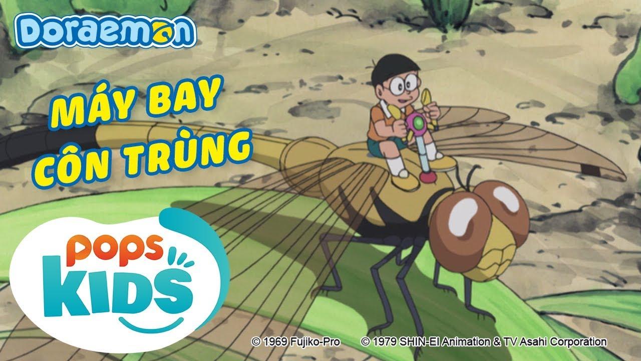 [S7] Doraemon Tập 330 – Máy Bay Côn Trùng – Hoạt Hình Tiếng Việt