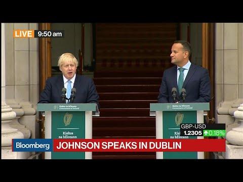 Boris Johnson Says There Will Never Be Checks at Irish Border