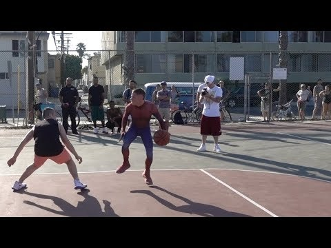 Spider-Man Basketball LOSES 1v1... Peter Parker Avenges!