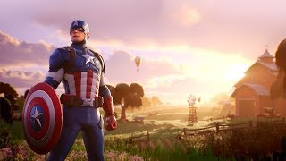 FORTNITE BATTLE ROYALE | *NEW* CAPTAIN AMERICA SKIN OUT RIGHT NOW!!!