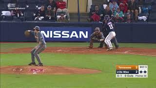 Tennessee Baseball vs Ole Miss Highlights