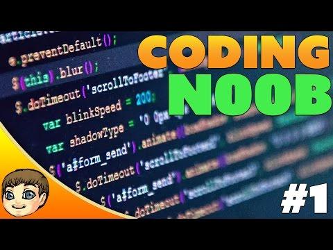 Coding N00b's Learning Vlog #1 // Picking a Programming Language