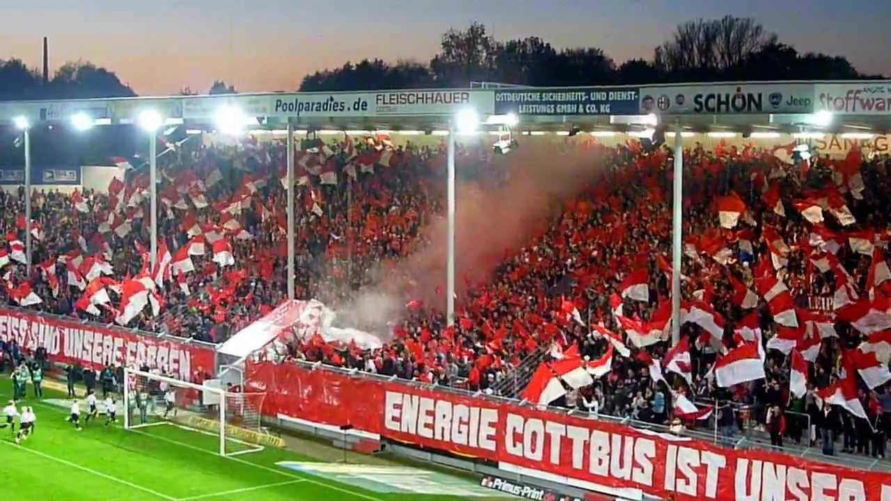 fc energie cottbus 1 fc union berlin 0 0 choreo youtube. Black Bedroom Furniture Sets. Home Design Ideas