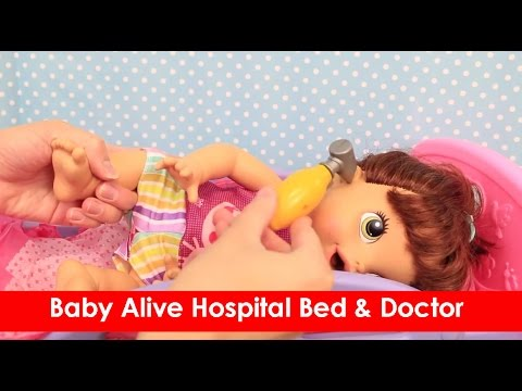 Baby Alive Hospital Bed Amp Doctor Check Up On Lucy Doll