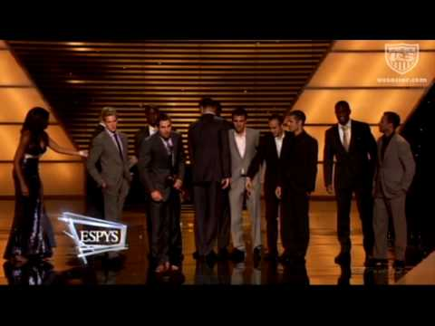 MNT Accepts ESPY for Best Moment