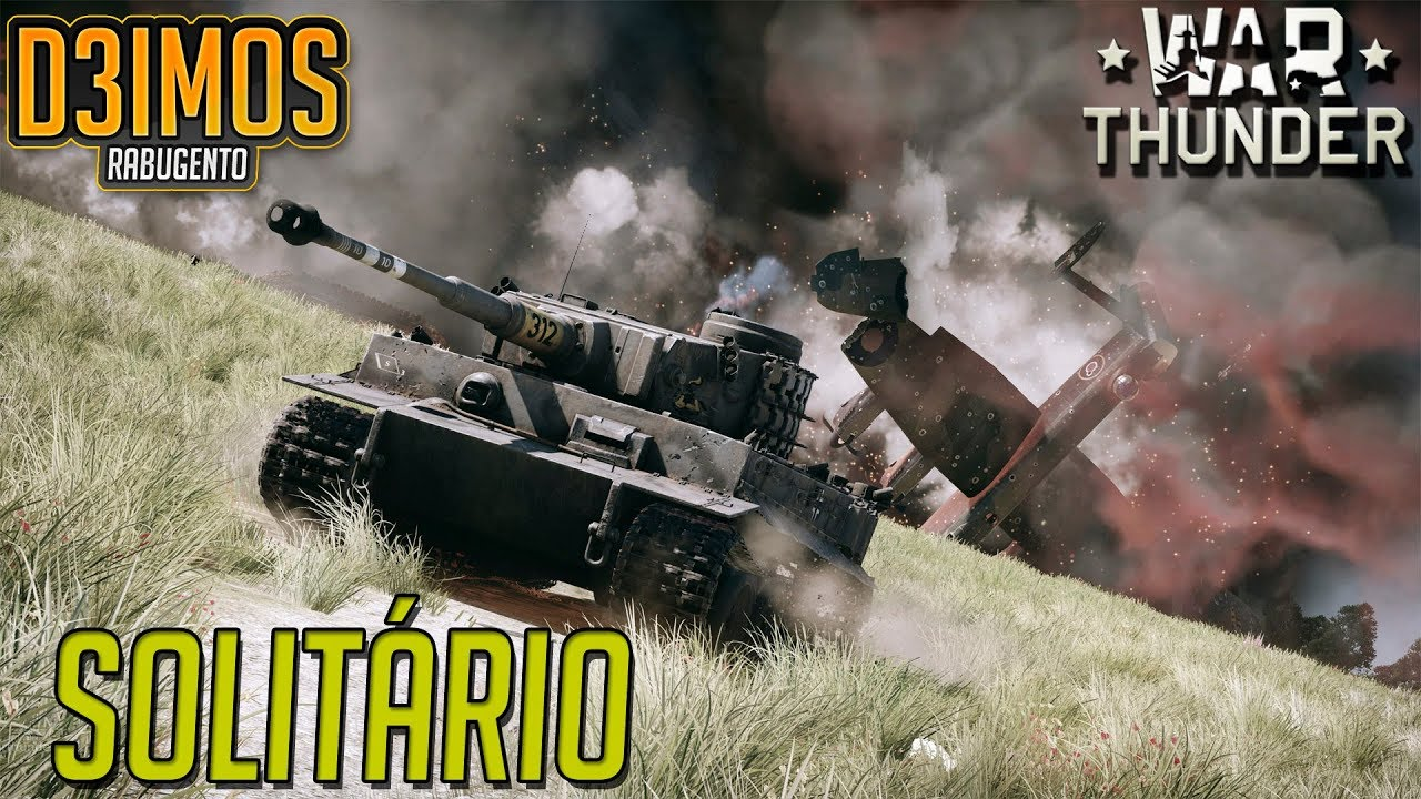 War Thunder: TIGER SOLITÁRIO.