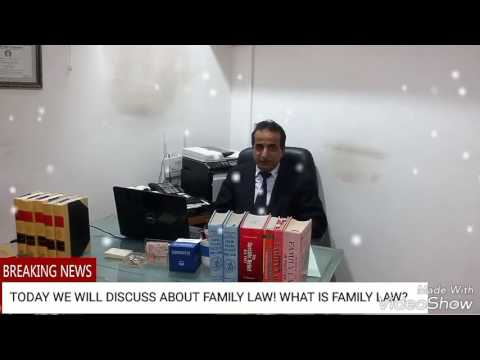 FAMILY LAW OF PAKISTAN