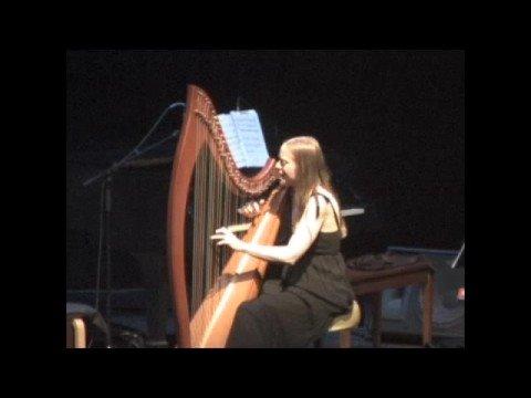 "Erin Hill vocals & harp ""O Mio Babbino Caro"""