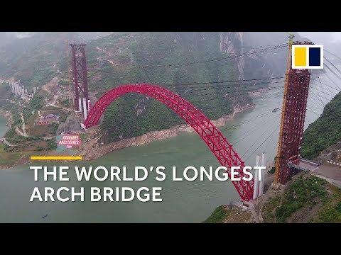 China built world's longest arch bridge