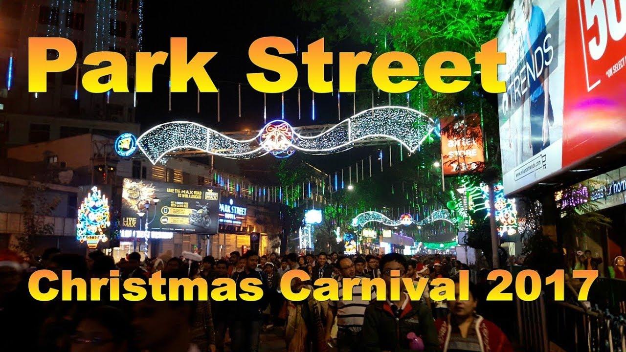 Park Street Kolkata During Christmas.Park Street Christmas Carnival 2018 Kolkata Best Christian Festival India December