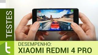 Desempenho do Xiaomi Redmi 4 Pro | Teste de velocidade oficial do TudoCelular