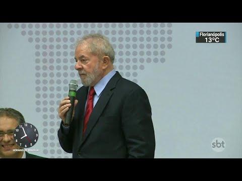 Presidente do STJ nega mais de 140 pedidos de liberdade para Lula | SBT Brasil (11/07/18)