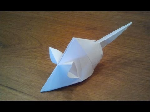 Papercraft How To Make an Origami Mouse (Tetsuya Gotani)
