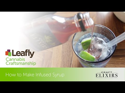 Cannabis Craftsmanship: Making Infused Syrup