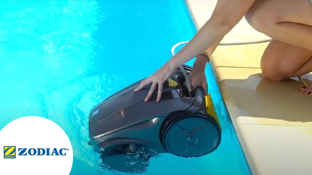 comment bien utiliser le robot de piscine zodiac vortex. Black Bedroom Furniture Sets. Home Design Ideas