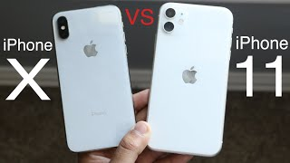 iPhone X Vs iPhone 11! (Comparison) (Review)