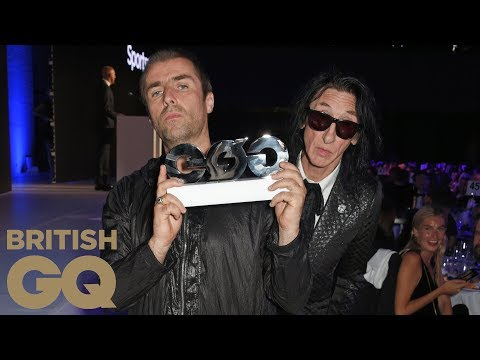 Liam Gallagher wins Rock 'n' Roll Star of the Year | Men of the Year Awards 2017 | British GQ