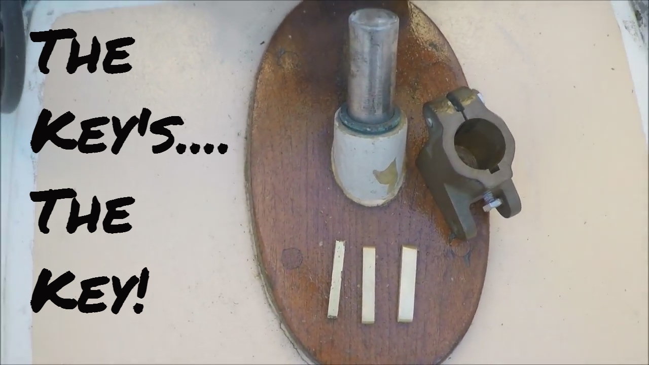 130: The Keys, The Key! Tiller Repair Part 2