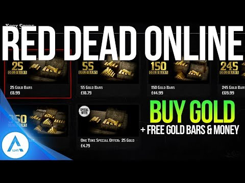 Red dead Online New Update – Anti Griefing, Buy gold online + 15 FREE GOLD Bars & $1000