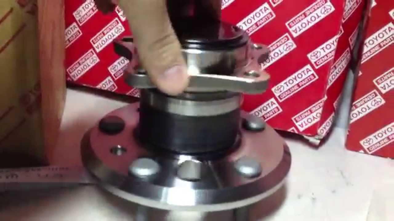 Замена термостата на Toyota Corolla с двигателем 5A-FE - YouTube