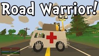 Unturned 3.0 Road Warrior! (gameplay / Walkthrough)
