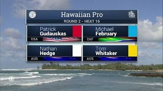 2016 Hawaiian Pro: Round Two, Heat 16