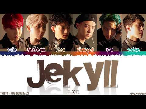 EXO (엑소) - 'JEKYLL' (지킬) Lyrics [Color Coded_Han_Rom_Eng]