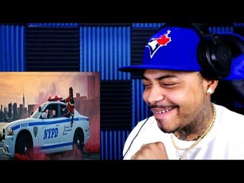 50 Cent ft. 6ix9ine Casanova Uncle Murda Get The Strap REACTION