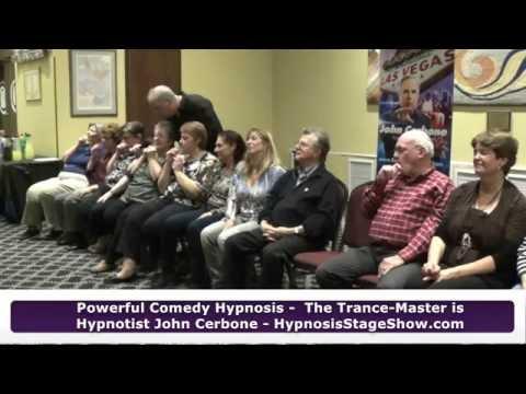 Temple Fund-Raiser Hypnosis Show Highlights –  World Famous Hypnotist John Cerbone