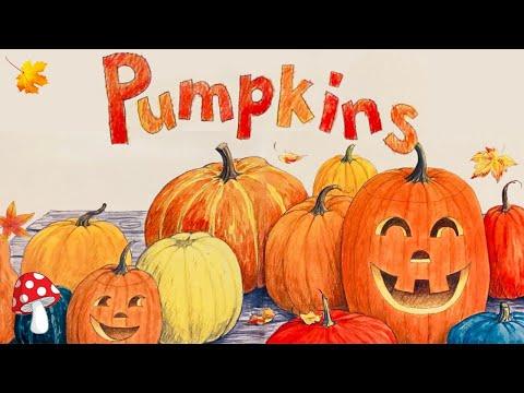 Pumpkins | Non-fiction (Read Aloud books for kids) Fall book by Jacqueline Farmer
