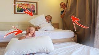 Unde s-a ascuns MELISSA?De-a v-ati ascunselea in Hotelul din Egipt   Hide and Seek