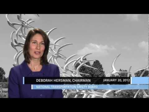 Oral History Interview: Chairman Deborah Hersman, NTSB