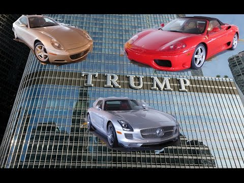 Exotic Cars in Trump Tower Parking Garage-Chicago
