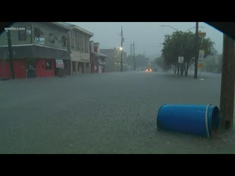Mani Millss - (VIDEO) The City of New Orleans is Experiencing Extreme Storms and Flooding