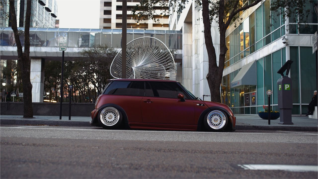 Slammed Mini Cooper S In Downtown Tampa 4k Youtube