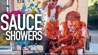 One of Jc Caylen's most viewed videos: MESSY Sauce Showers