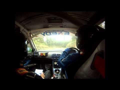 SS4 Onboard - Tony Morley / Rodney Hunt Crash - Subaru WRX - 2012 Rally Victoria
