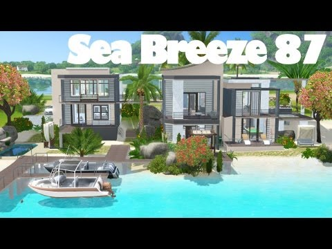 The Sims 3 House Building - Sea Breeze 87 | Speed